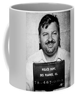 John Wayne Gacy Mug Shot 1980 Black And White Coffee Mug