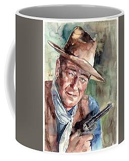 John Wayne Portrait Coffee Mug