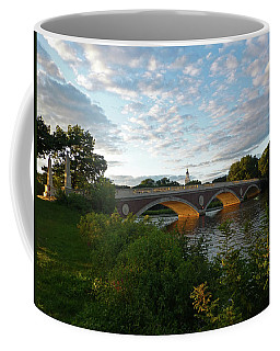 John Weeks Bridge In Harvard Square Cambridge Coffee Mug