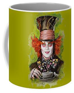 Johnny Depp As Mad Hatter Coffee Mug