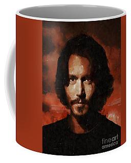 Johnny Depp, Hollywood Legend By Mary Bassett Coffee Mug