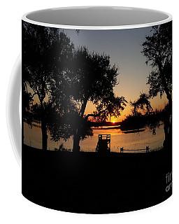 Coffee Mug featuring the photograph Johns Island Sunset by Robert Knight