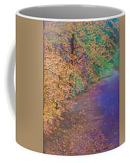 John's Pond In The Fall Coffee Mug