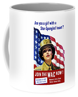 Join The Wac Now - World War Two Coffee Mug