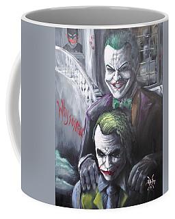Jokery In Wayne Manor Coffee Mug