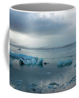 Coffee Mug featuring the photograph Jokulsarlon, The Glacier Lagoon, Iceland 1 by Dubi Roman