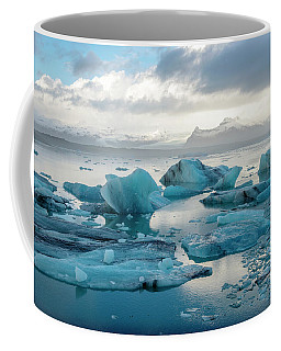 Coffee Mug featuring the photograph Jokulsarlon, The Glacier Lagoon, Iceland 6 by Dubi Roman