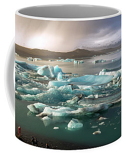 Jokulsarlon The Magnificent Glacier Lagoon, Iceland Coffee Mug