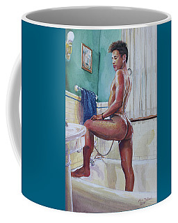 Jon In The Bathtub Coffee Mug