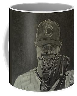Jon Lester Portrait Coffee Mug