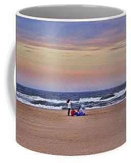 Jones Beach In January Coffee Mug