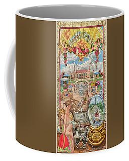 Jones Beach Love Story Towel Version Coffee Mug