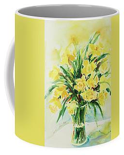 Jonquils Coffee Mug by Alexandra Maria Ethlyn Cheshire