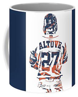 Jose Altuve Houston Astros Pixel Art 10 Coffee Mug