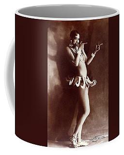 Josephine Baker Lucien Walery   Banana Skirt From The Folies Bergere Production Un Vent De Folie Coffee Mug