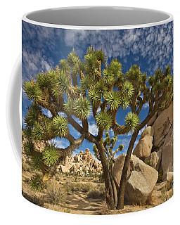 Joshua Tree And Blue Sky Coffee Mug
