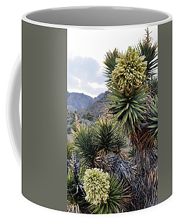 Joshua Tree Bloom Rainbow Mountain Coffee Mug