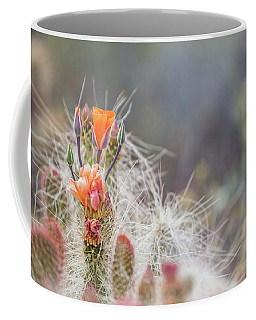 Joshua Tree Cactus And Flower Coffee Mug