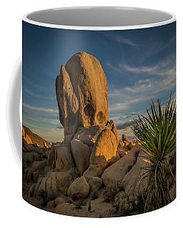 Coffee Mug featuring the photograph Joshua Tree Rock Formation by Ed Clark