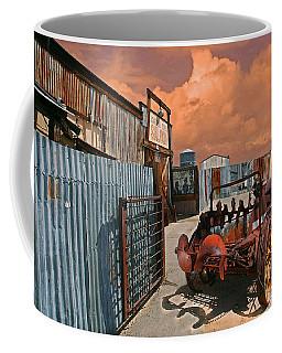 Coffee Mug featuring the photograph Joshua Tree Saloon by Jeff Burgess