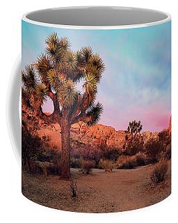 Joshua Tree With Dawn's Early Light Coffee Mug
