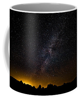 Joshua Tree's Fiery Sky Coffee Mug
