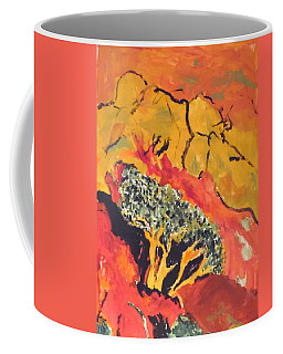 Joshua Trees In The Negev Coffee Mug
