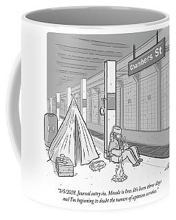 Journal Entry Six Morale Is Low Coffee Mug