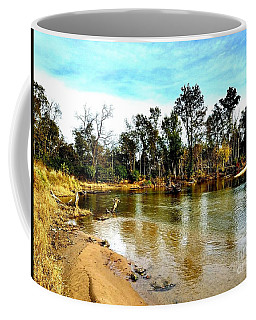 Journey To The Rivers Bend Coffee Mug