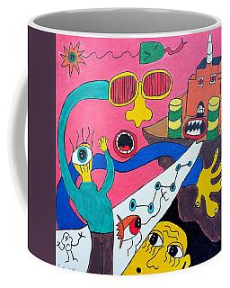 Journey Upon The Path Of Despair Coffee Mug