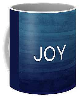 Joy Blue- Art By Linda Woods Coffee Mug