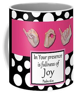 Joy - Bw Graphic Coffee Mug
