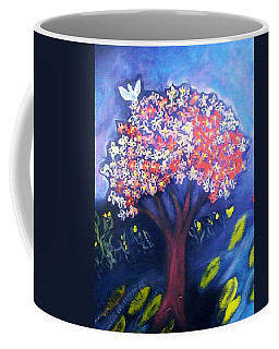 Coffee Mug featuring the painting Joy by Winsome Gunning