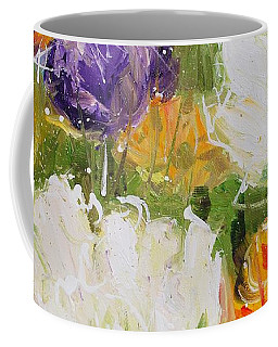 Joy With Tulips Coffee Mug