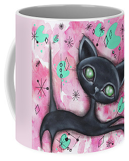 Joyce Cat Coffee Mug by Abril Andrade Griffith