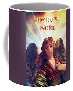 Joyeux Noel Christmas Card Coffee Mug