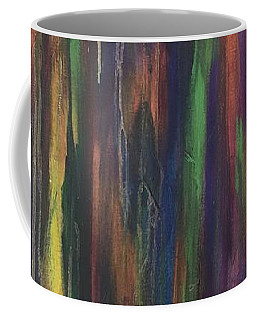 Coffee Mug featuring the painting Joyful Forest by Rebecca Davidson