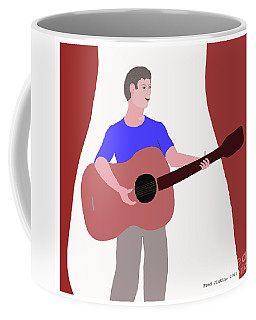 Joyful Young Musician Coffee Mug