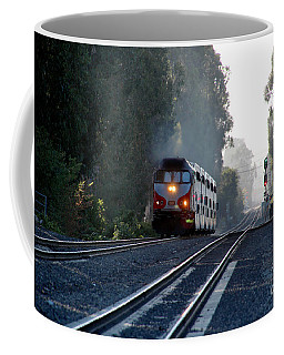 Jpbx 380, Caltrain, Burlingame, California Coffee Mug