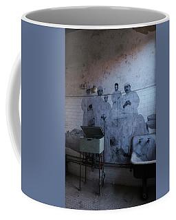Coffee Mug featuring the photograph Jr The Artist by Tom Singleton