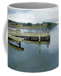 Juanita Bay In Gray Coffee Mug