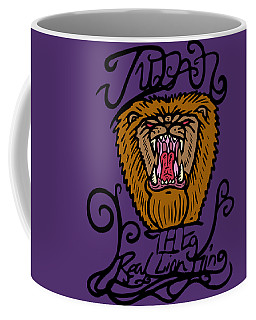 Judah The Real Lion King Coffee Mug