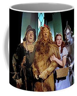 Judy Garland And Pals The Wizard Of Oz 1939-2016 Coffee Mug