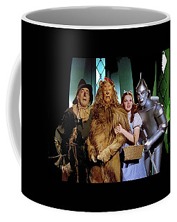 Judy Garland And Pals The Wizard Of Oz 1939-2016 Coffee Mug by David Lee Guss