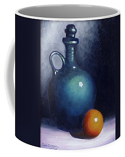 Jug And Orange. Coffee Mug