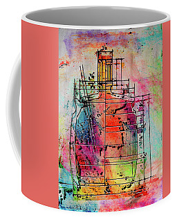 Jug Drawing Coffee Mug