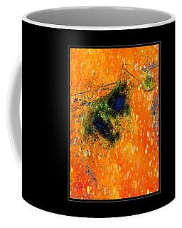 Jug In Black And Orange Coffee Mug