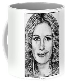 Julia Roberts In 2008 Coffee Mug by J McCombie