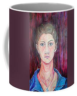 Julie Self Portrait Coffee Mug