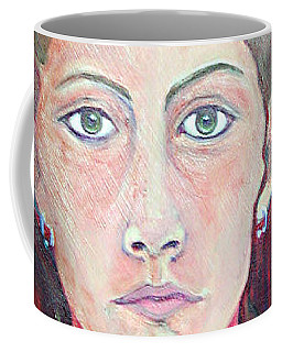 Julie Self Portrait Coffee Mug